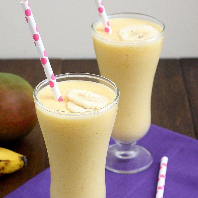 Sorbete Banano-Mango