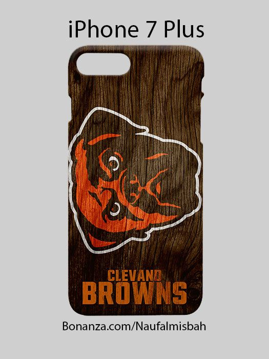 Cleveland Browns Custom iPhone 7 PLUS Case Cover Wrap Around