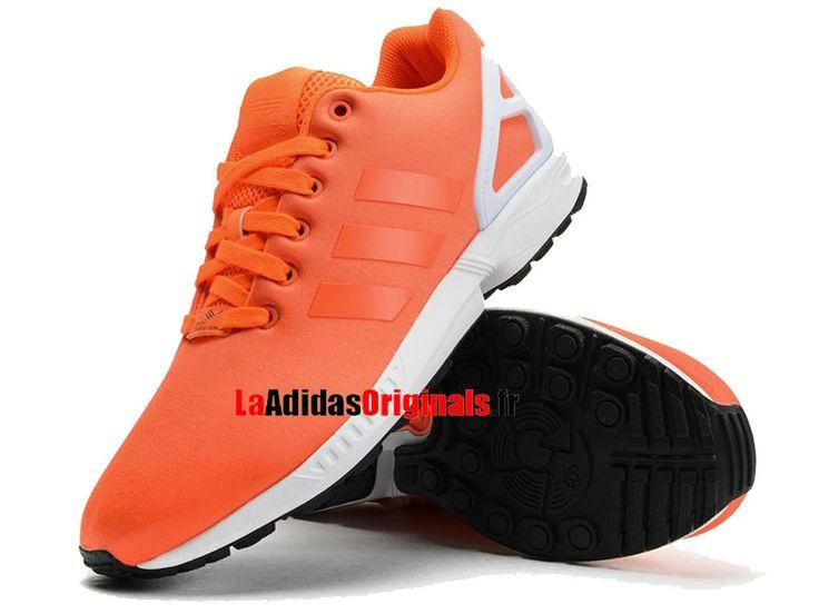 Adidas Originals ZX Flux - Chaussures Pas Cher Pour Femme Rouge/Blanc B34509-Boutique Adidas Originals de Running (FR) - LaAdidasOriginals.fr