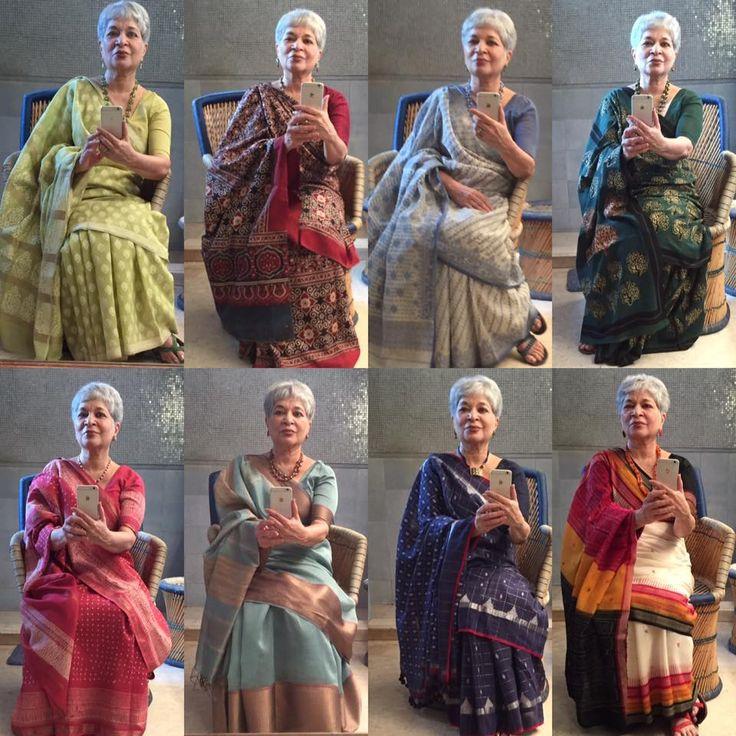 Saree sari #lailatayabji