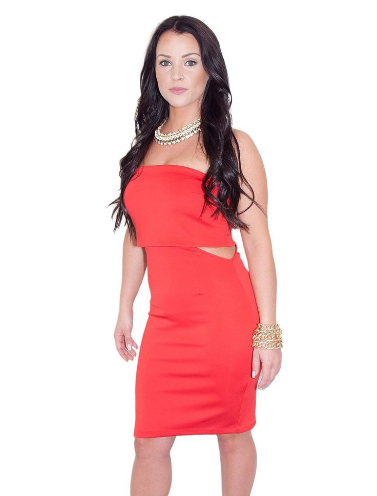 SOME LIKE IT HOT STRAPLESS DRESS