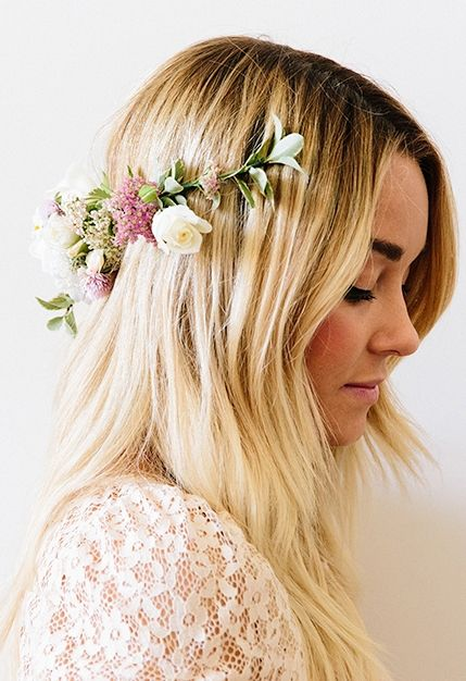 DIY - How to make flower crowns.