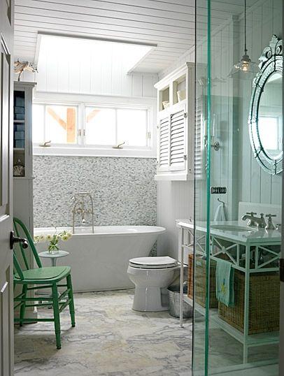 Bathroom | Sarah Richardson DesignBathroom Design, Tubs, Small Bathroom, Modern Bathroom, Sarah Richardson Bathroom, Bathroomdesign, House, Cottages Bathroom, Cottage Bathrooms