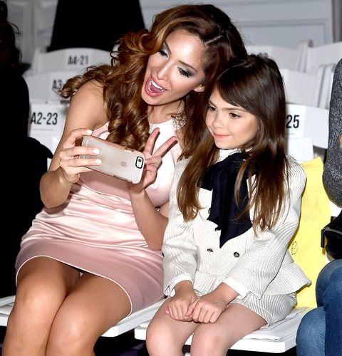 Farrah Abraham and her daughter Sophia Abraham attends Michelle Ann Kids + Bound…