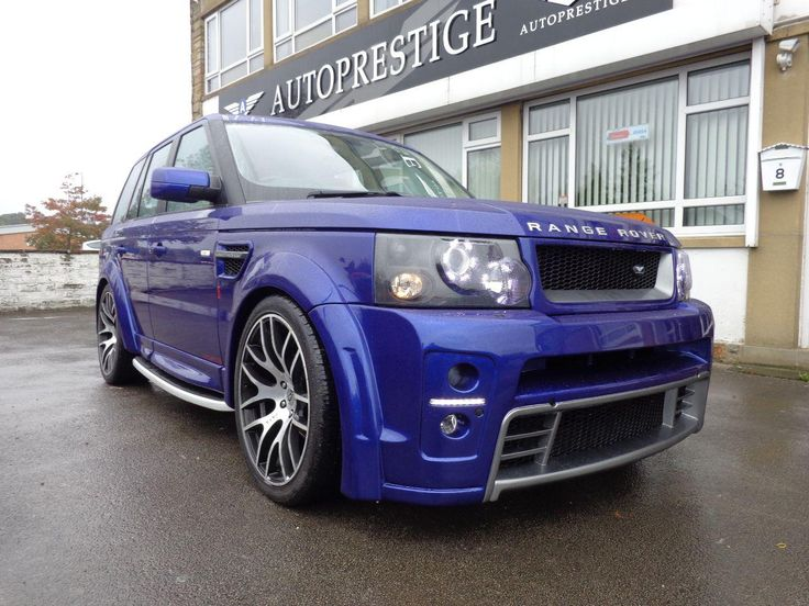 2005 Range Rover Sport 2.7. AP Customs Stage 3. Japha Blue Pearl effect. Wide body. Click on pic shown for loads more.