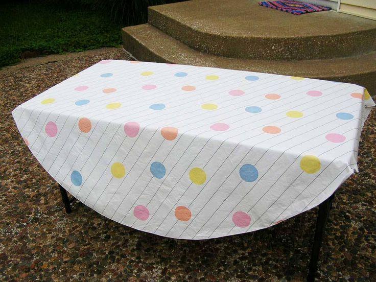Best 25 Outdoor Tablecloth Ideas On Pinterest