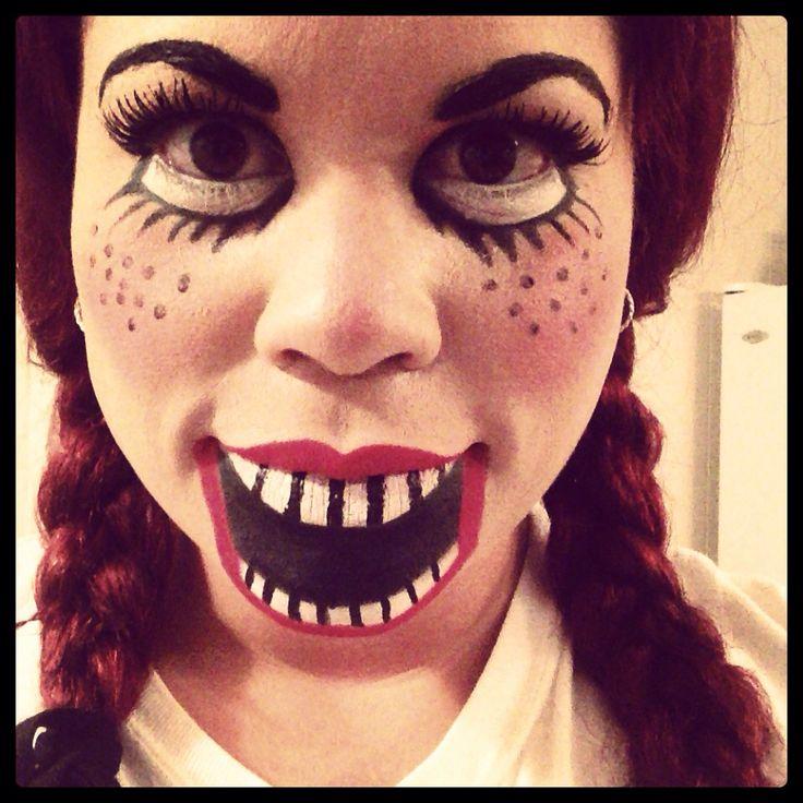 puppet makeup - Puppet Halloween