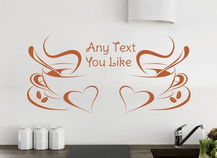 Morning Coffee Kitchen Wall Art Sticker & 24 best Kitchen Wall Art Stickers From Smarty Walls http://www ...