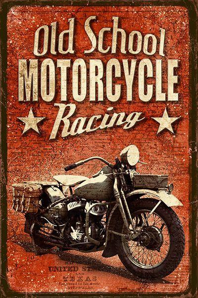 Old School Motorcycle Racing
