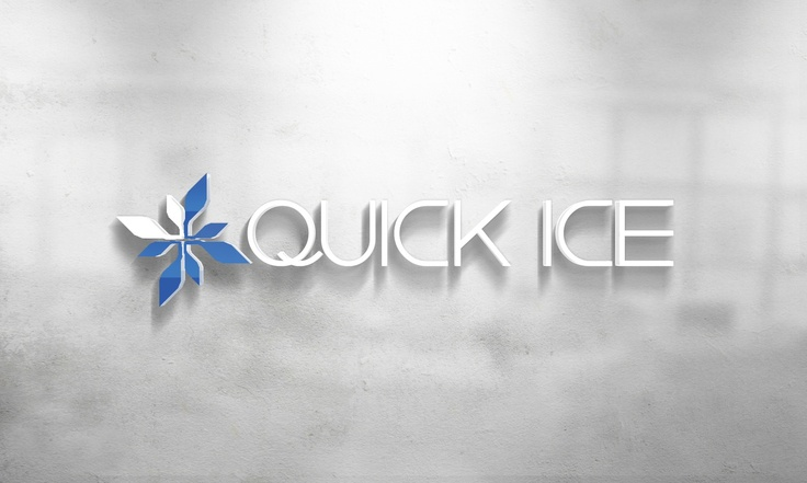 Quick Ice Logo Design