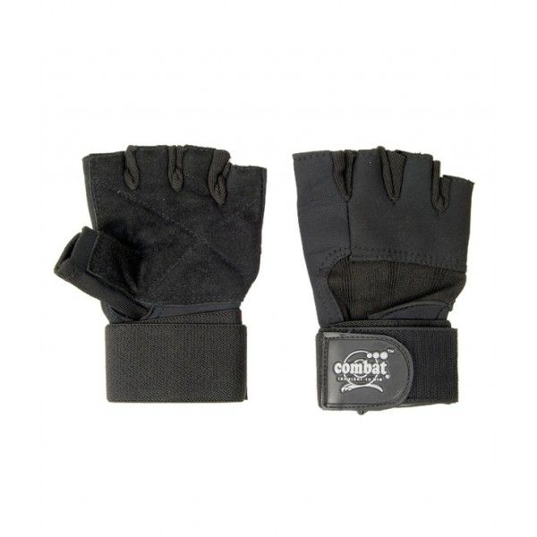 Combat Raider Gym Gloves Product Code: FS1434  MRP: Rs 425.00 /- Discount: 12 % Our Price:Rs 375.00/- Expected Dispatch in 4-5 Business days.  Size: Small Color: Black