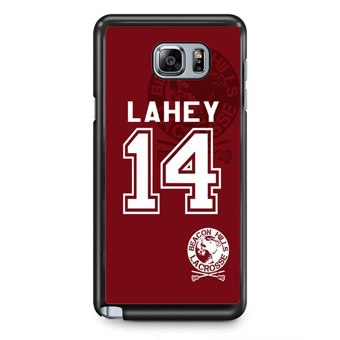 Teen Wolf Isaac Lahey Lacrosse Jersey TATUM-10566 Samsung Phonecase Cover Samsung Galaxy Note 2 Note 3 Note 4 Note 5 Note Edge