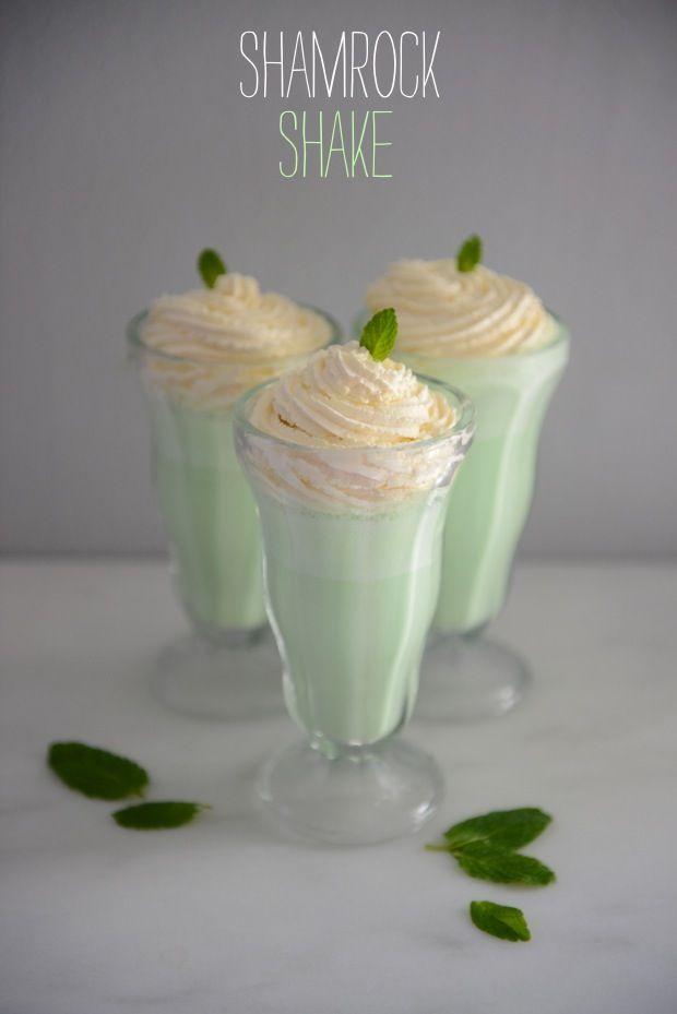 Shake: Shamrock Shakes, Shake Recipes, Shamrockshake, Food, Homemade ...