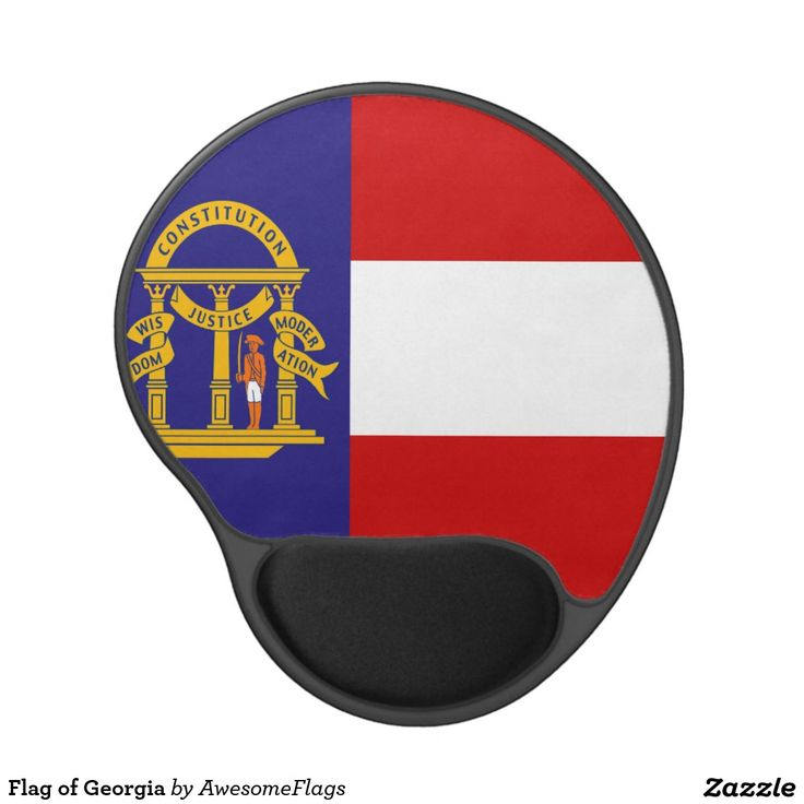 Flag of Georgia Gel Mouse Pad
