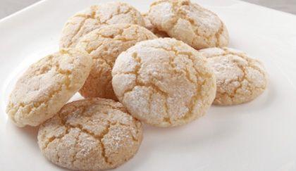 Biscotti alle mandorle al profumo di limone senza burro (cucina light), la ricetta