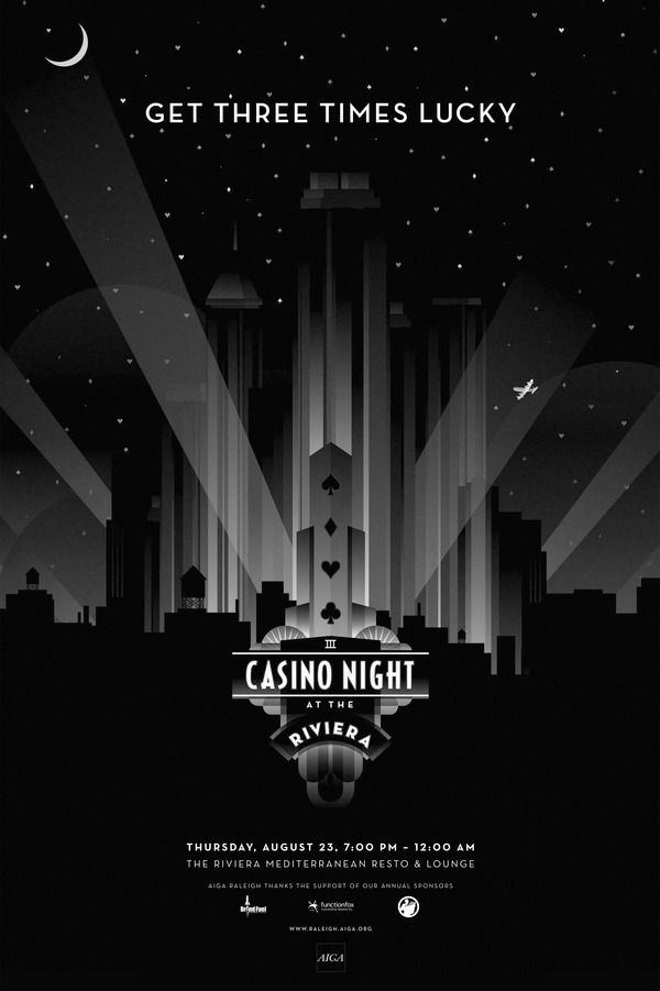 Casino Night by Shane Smith, via Behance