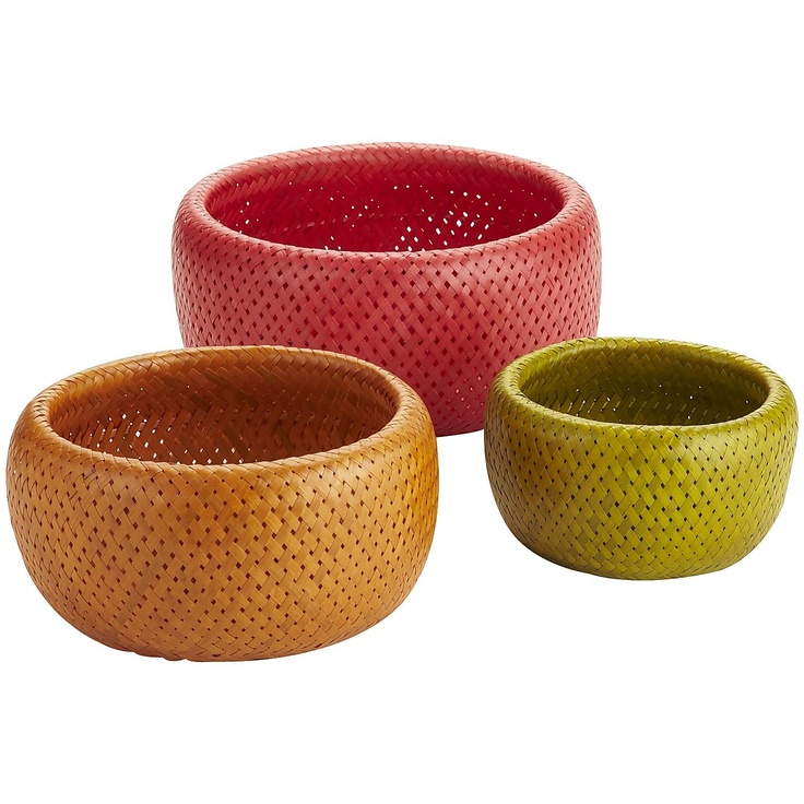 Maybe (Bamboo Bowl Set)