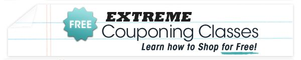 Extreme Couponing | Register for FREE Online Classes!