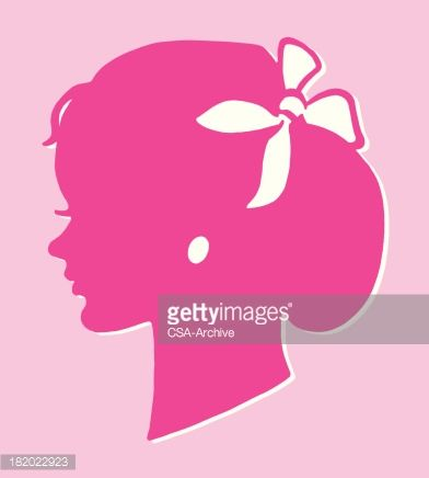 Beautiful Silhouette Of A Woman