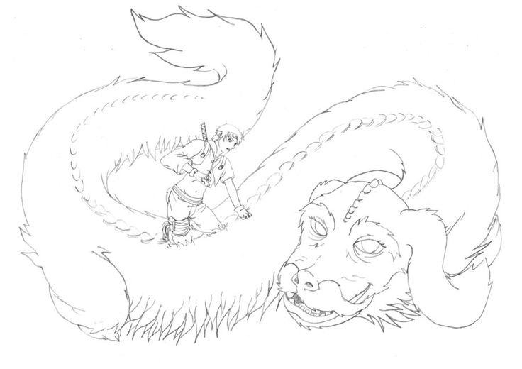 falcor the luck dragon coloring pages | 17 Best images about ALL THINGS MAGICAL on Pinterest ...
