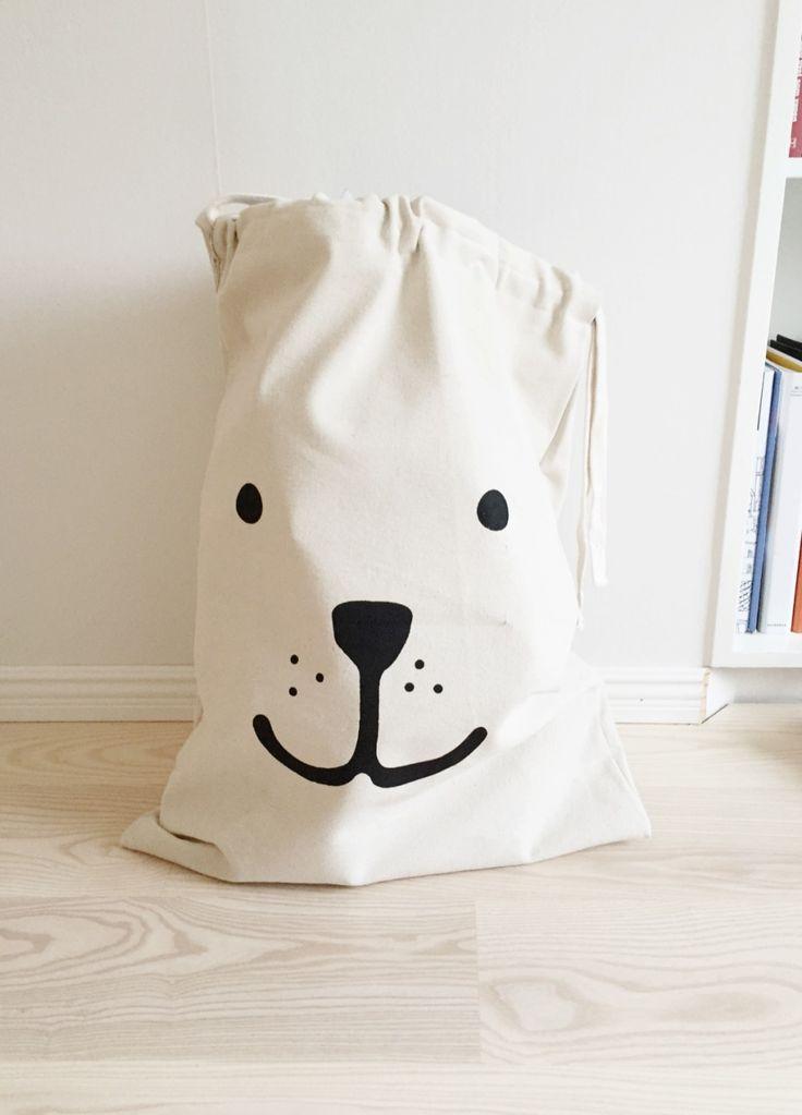 fabric bag tellkiddo - sacco tela protagiochi