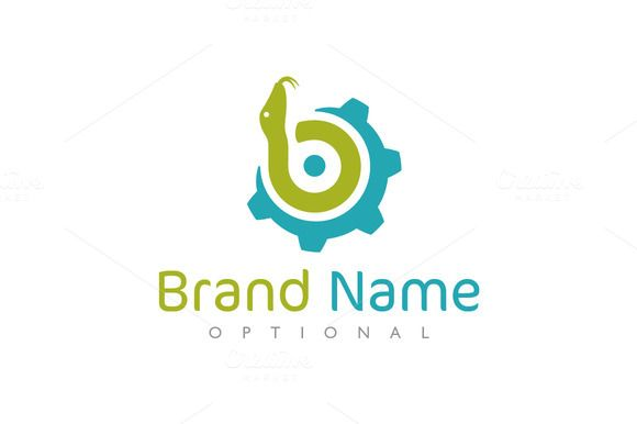 For sale. Only $29 - simple, blue, green, wheel, circle, letter B, letter D, letter P, letter Q, technology, software, solution, development, gear, engine, spiral, engineering, cog, snake, turn, cogwheel, coil, serpent, python, viper, industry, machine, logo, design, template,