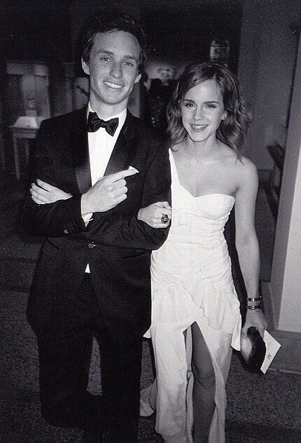 Emma Watson and Eddie Redmayne at the 2010 Met Gala. cuties