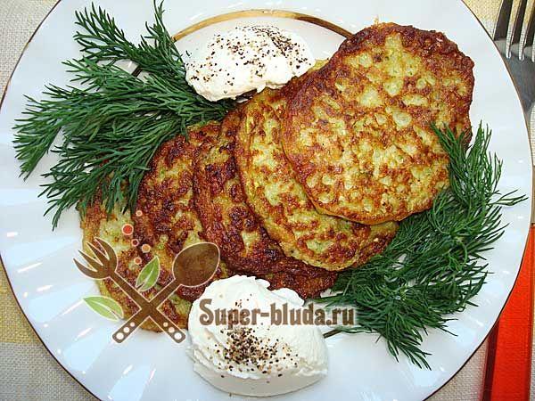 Оладьи из кабачков рецепты с фото, как приготовить кабачковые оладьи   Гарнир