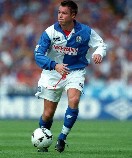 Graeme Le Saux of Blackburn Rovers in 1995.