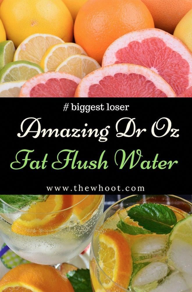The incredible Dr Oz Fat Flush Water Recipe that can help you burn fat, feel great and look thinner in just 10 days! Find out the recipe for this incredible drink that uses all-natural ingredients you already have in your pantry! #JuiceDetoxRecipes