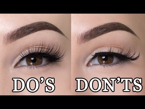 Lets Talk About Lashes! (For Hooded Eyes) Lash Application, Lash Tips & More! - YouTube
