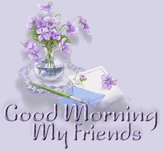Good Morning Friend Graphics