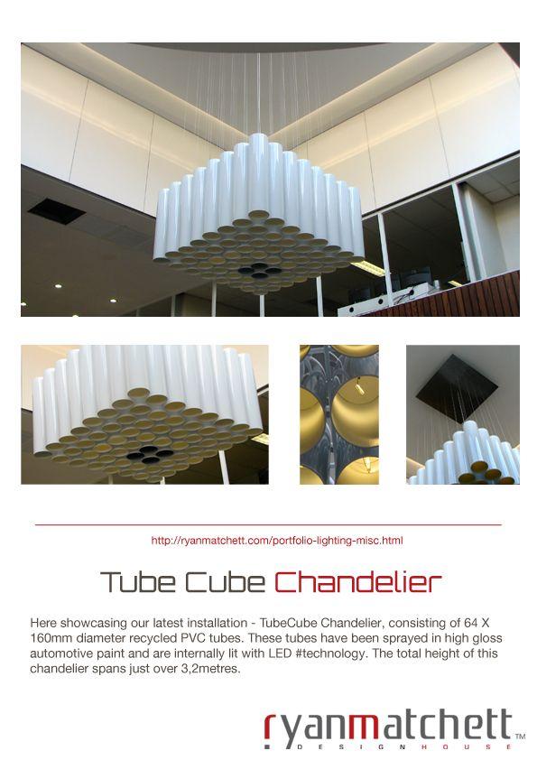 #TubeCube #Chandelier