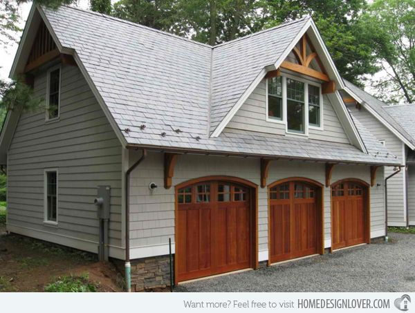 1000 images about garage asylum ideas on pinterest for Lake house plans with garage