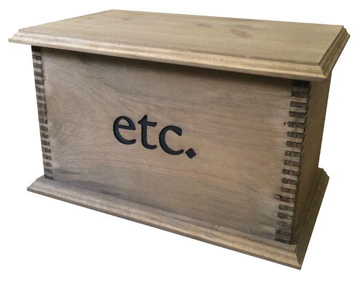 "#222 etc. Box  Great for storage of ""stuff""!"