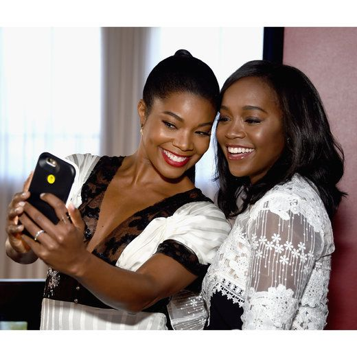 Gabrielle Union and Aja Naomi King