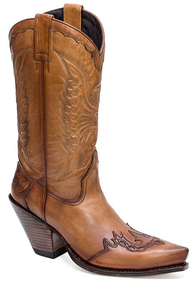 Damen Westernstiefel Sendra Boots 2560 Gorca Salvaje Noce #sanchostore #cowgirlboots #westernboots #Westernstiefel #