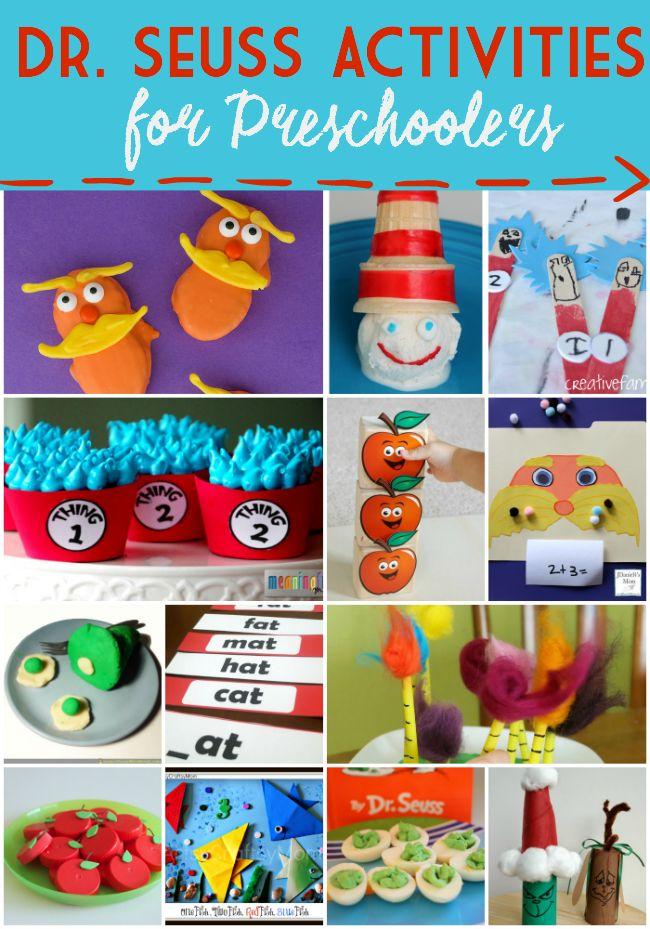 Dr.Seuss Preschool Activities