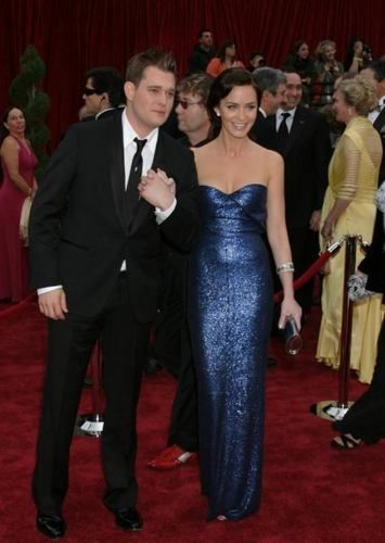 Michael Buble and Emily Blunt - michael-buble Photo