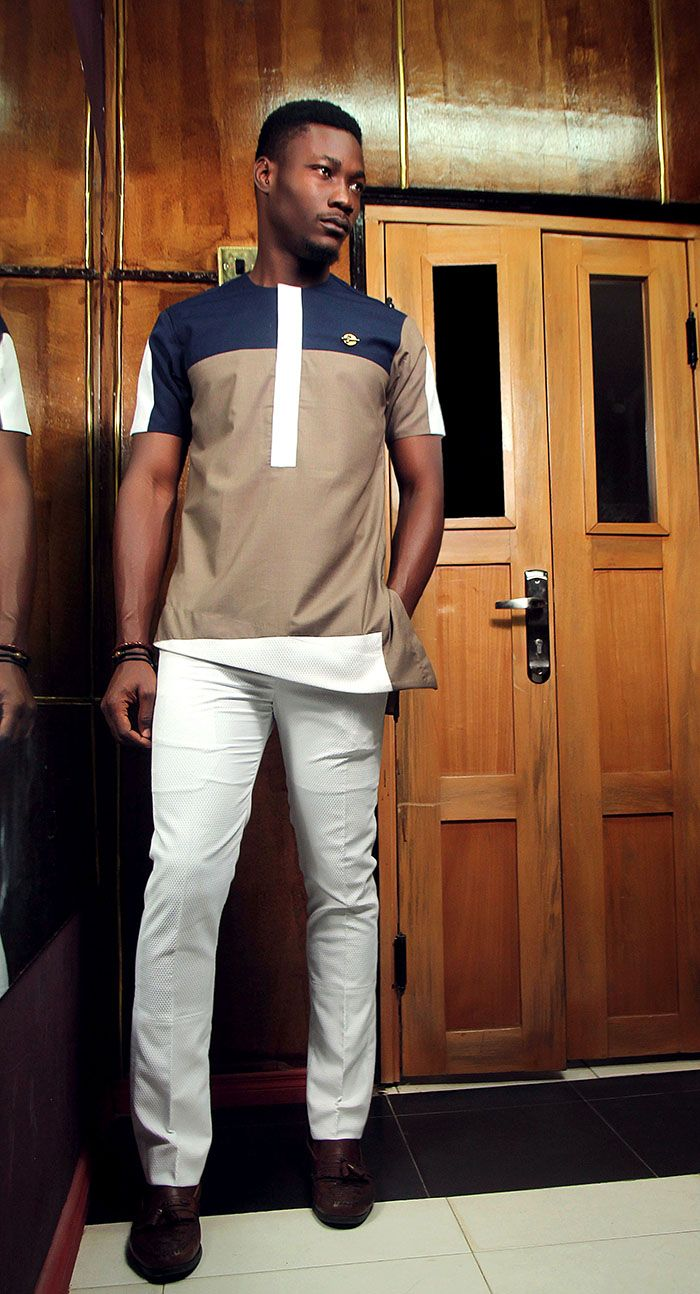 New Nigerian Label Kamsi Tcharles Presents The 'Okpara' Collection
