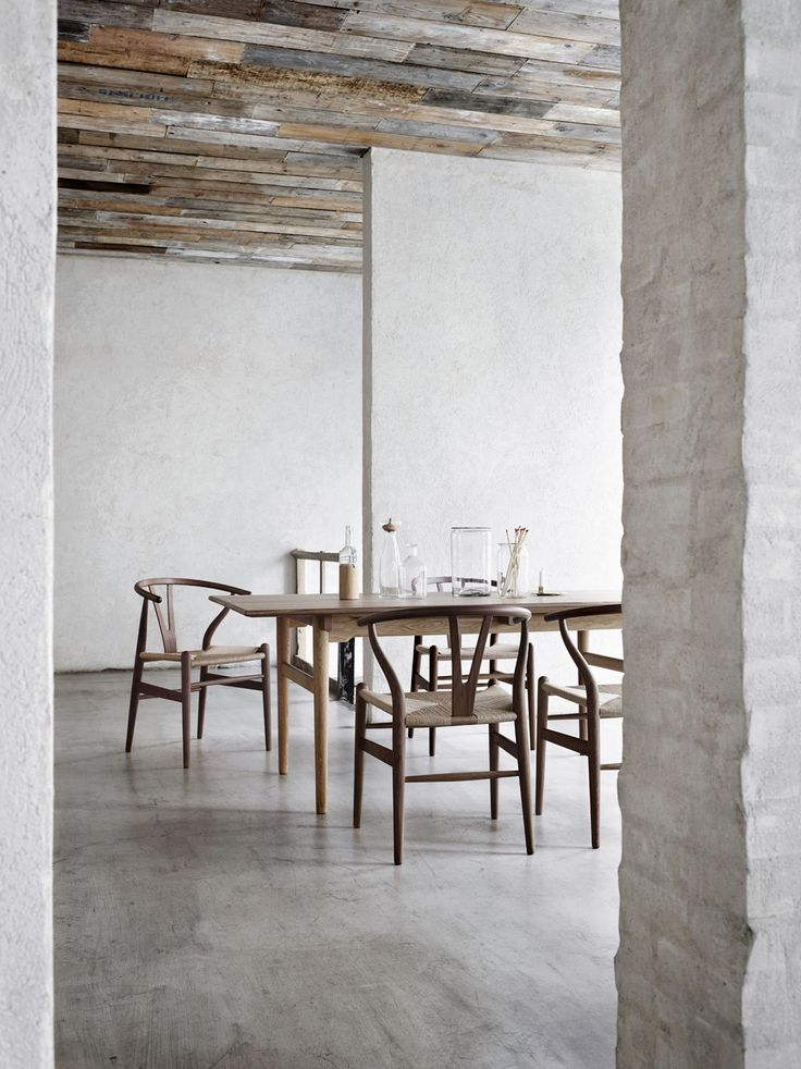 9 Handsome Spaces That Will Make You Crave The Limited Elm Wood Wishbone Chair – Bungalow5