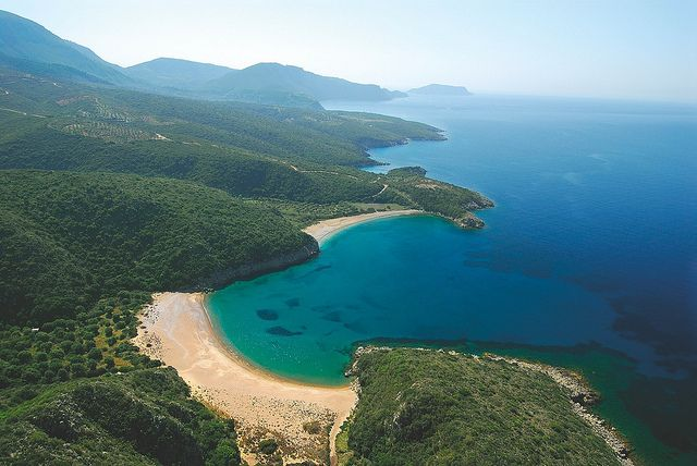 Finikounda, Messinia, Peloponnese: luxurious resorts and boutique guest houses, high mountains and mellow olive groves, historical sites of all ages and of course amazing beaches of all kinds.