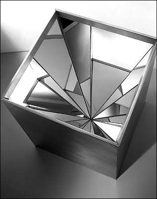 """Robert Smithson   """"Four Sided Vortex"""""""