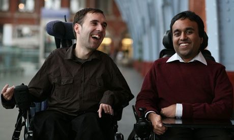 Martyn Sibley and Srin Madipalli in The Guardian talking about their magazine - Disability Horizons: People Magazine