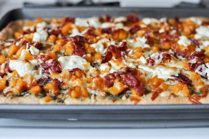 Harvest Pizza (Butternut Squash, Sage Pesto, Prosciutto)