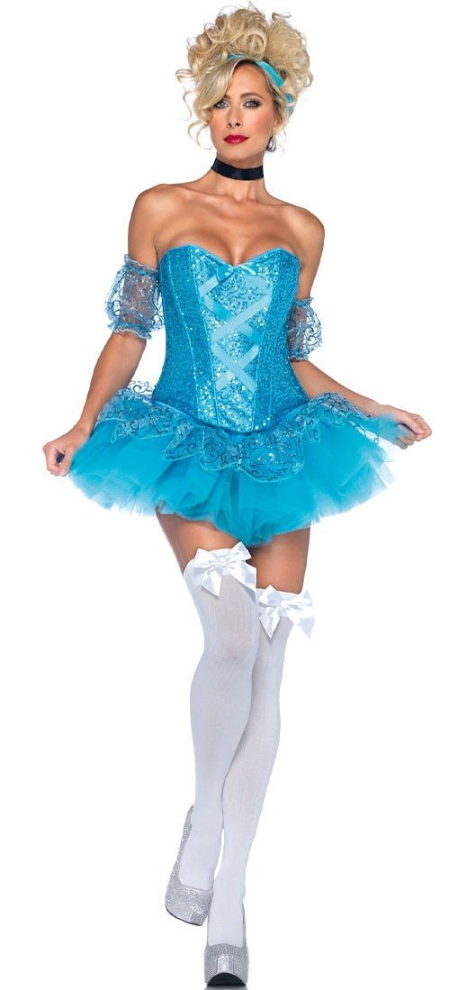 Игровой костюм Золушки для девушки с юбкой-пачкой — http://fas.st/5bfCZ