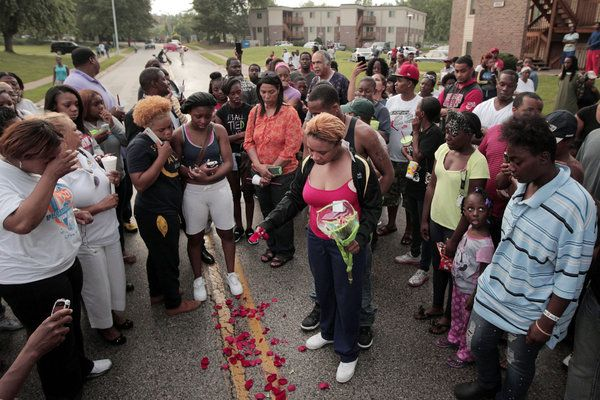 Michael Brown's Shooting and Its Immediate Aftermath in Ferguson