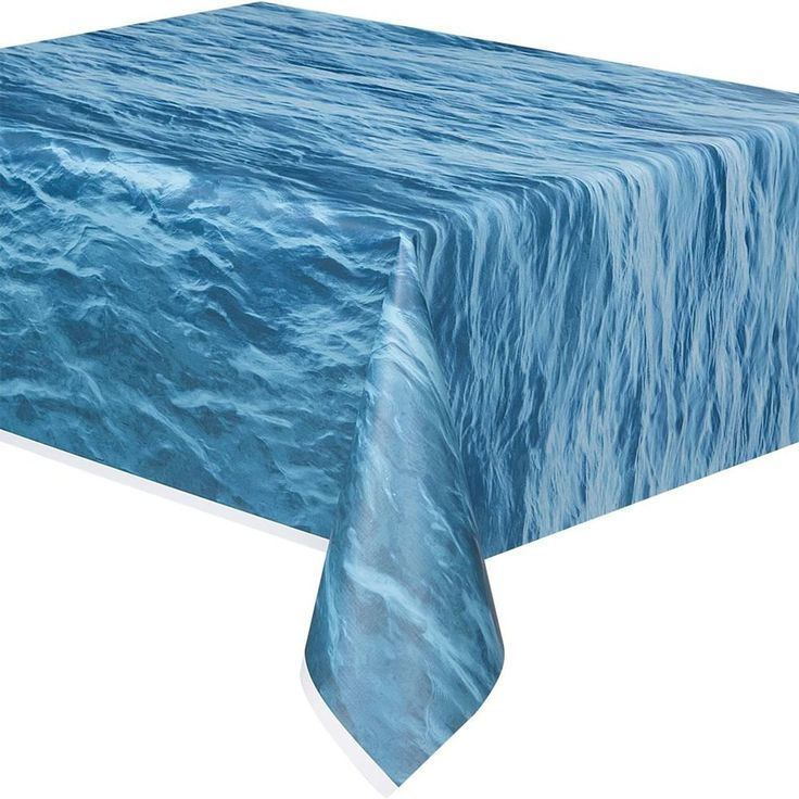 Nautical Tablecloth; Nautical Baby Shower; Nautical Birthday Party; Ocean  Waves Decor; Under