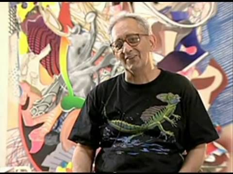 Frank Stella (born May 12, 1936) is an American painter and printmaker, noted for his work in the areas of minimalism and post-painterly abstraction.