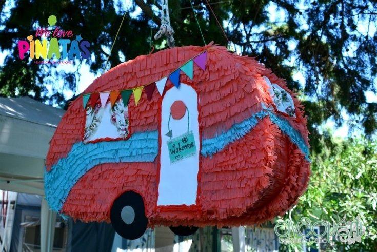 pinata caravan, πινιάτα τροχόσπιτο, Πινιάτες οι αγαπημένες! (updated!) - Anthomeli